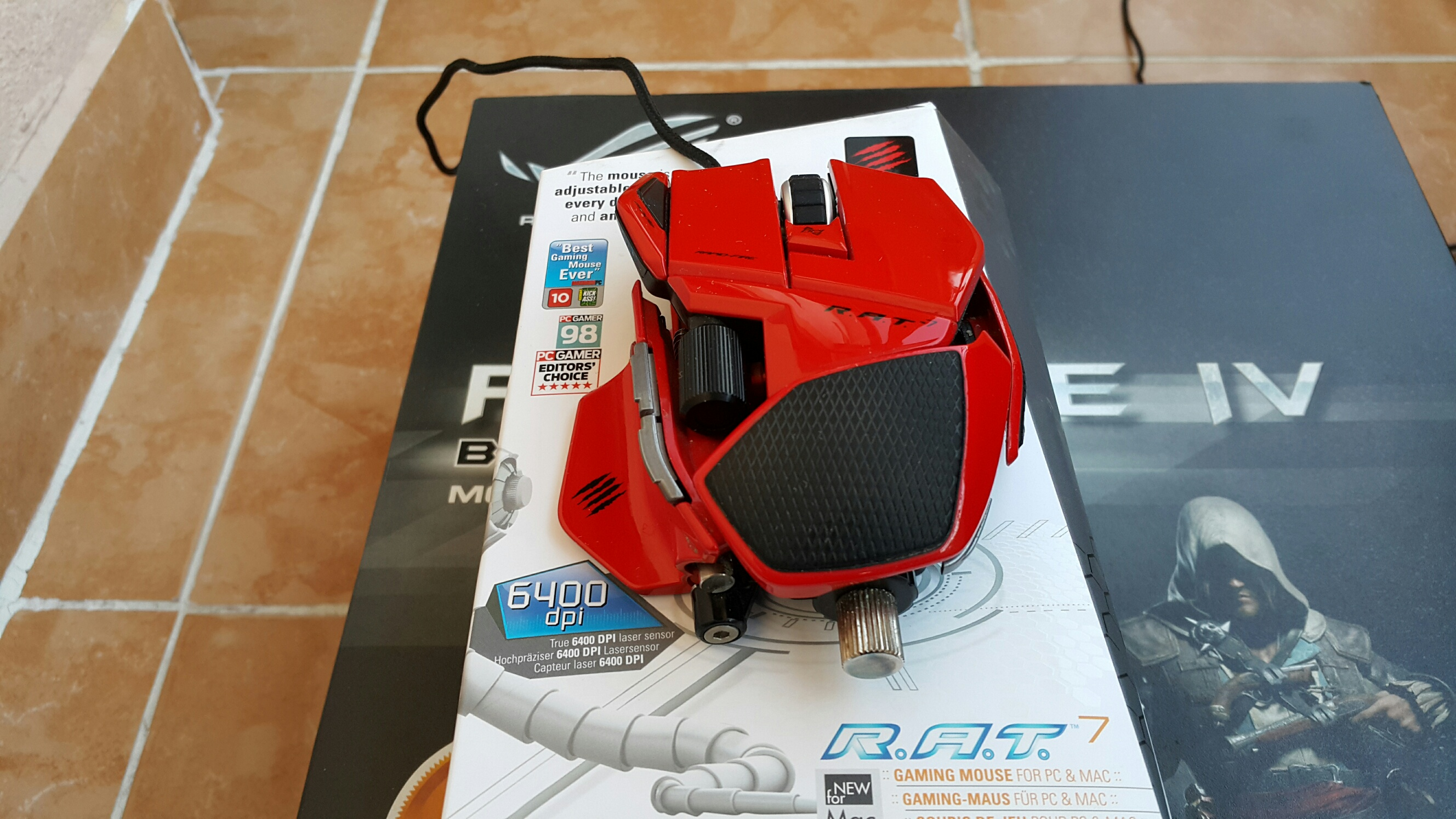 CYBORG MADCATZ R A T 7 Gaming Mouse LOGITECH G700s GAMING MOUSE Sayfa 1 1