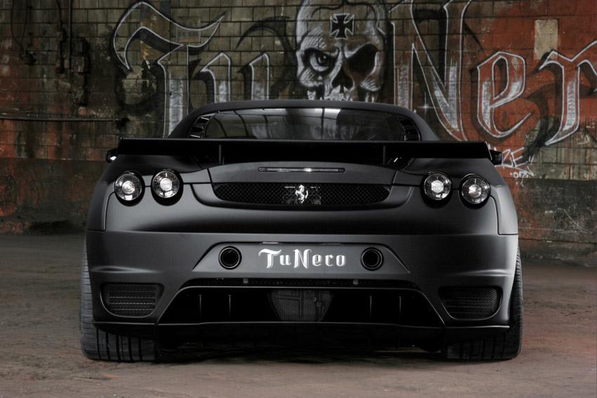 Ferrari F430 Tu Nero All Black By Novitec Resim