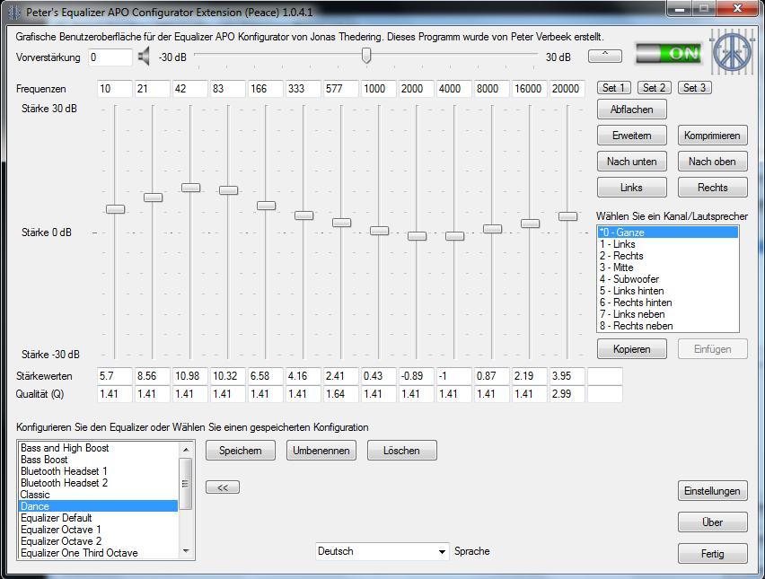 Equalizer APO (parametric stüdyo tipi equalizer) kullanımı