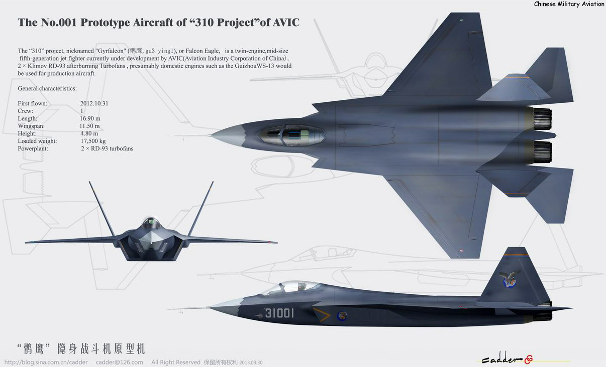 The improved J31 stealth fighter prototype has been ramping up its test flights in April 2017 adding fuel to speculation that it will become the stealth