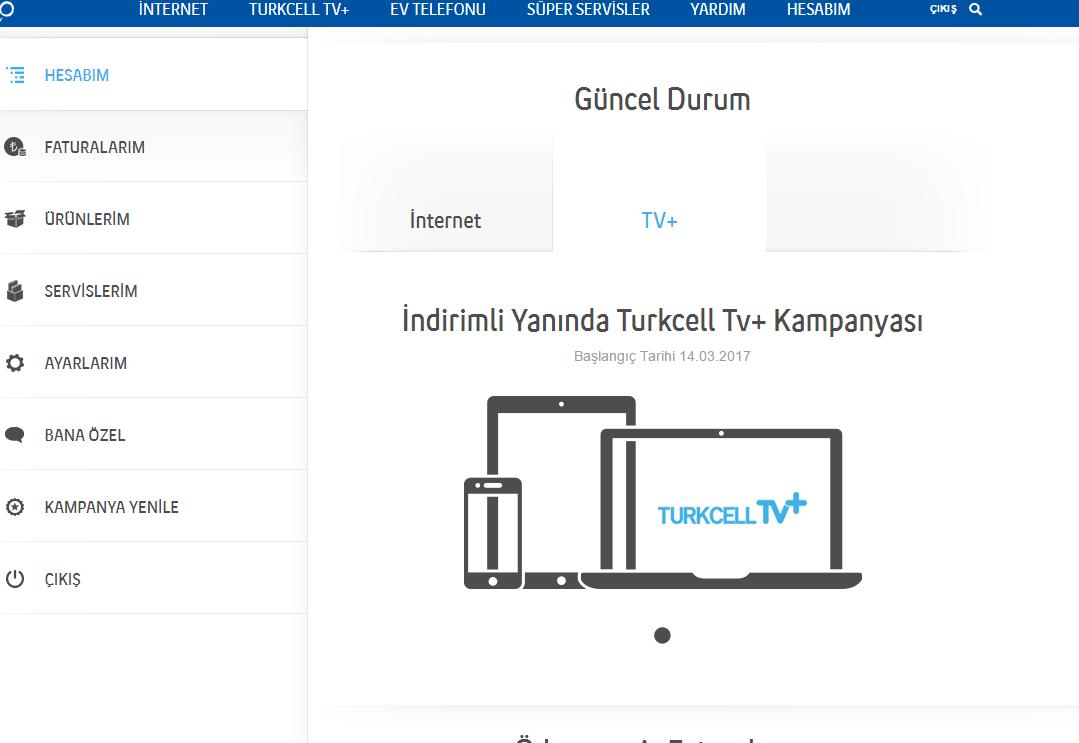 turkcell ev için internet paketleri