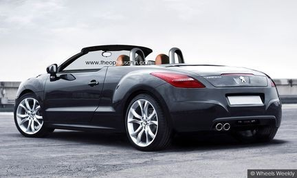 peugeot rcz cabriolet sayfa 1 3. Black Bedroom Furniture Sets. Home Design Ideas