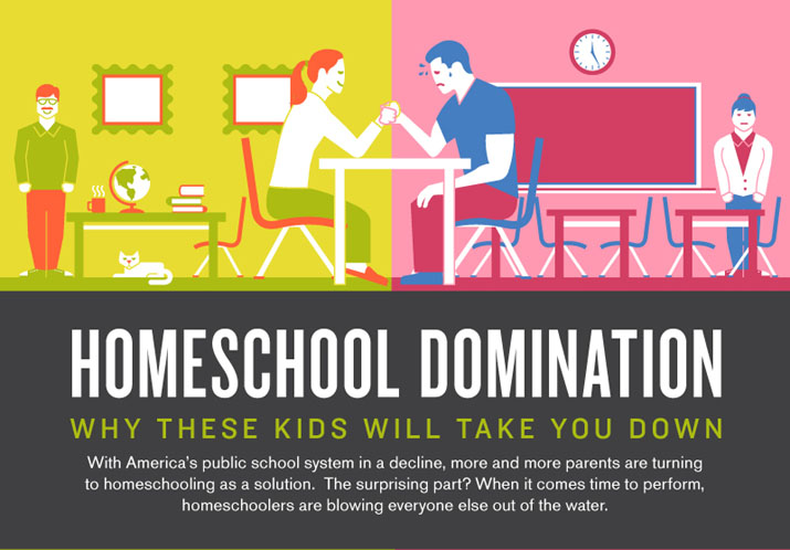 home vs public school