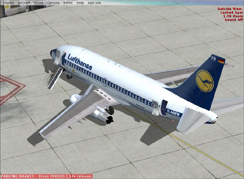 Fsx boeing 737 - 200 lufthansa » Sayfa 1 - 1