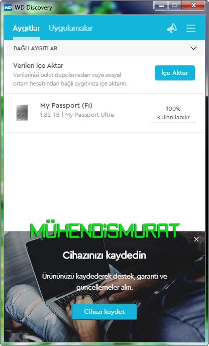 WD My Passport & Ultra 2,5' USB3 0 İnceleme, Detaylar » Sayfa 1 - 78