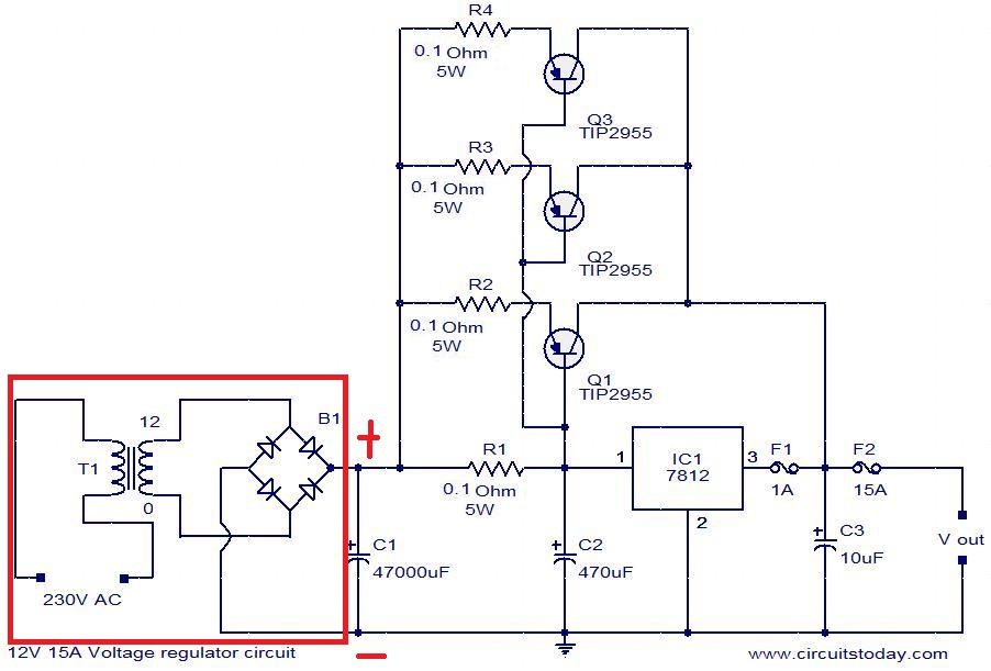 Controlling Dc Motors Arduino Arduino L298n Tutorial moreover Pcb Layout For Variable Power Supply 2 besides 48 V Inverter Circuit in addition Using A Mosfet To Control A Dc Motor as well Over Voltage And Low Voltage Protection Circuit. on power regulator circuit for 12v motor