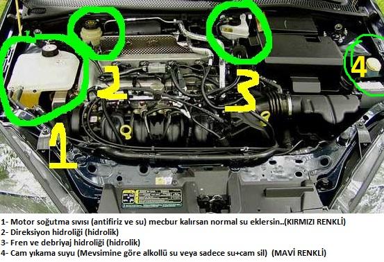 Motor Sogutma Suyuna Antifiriz Nasıl Konur