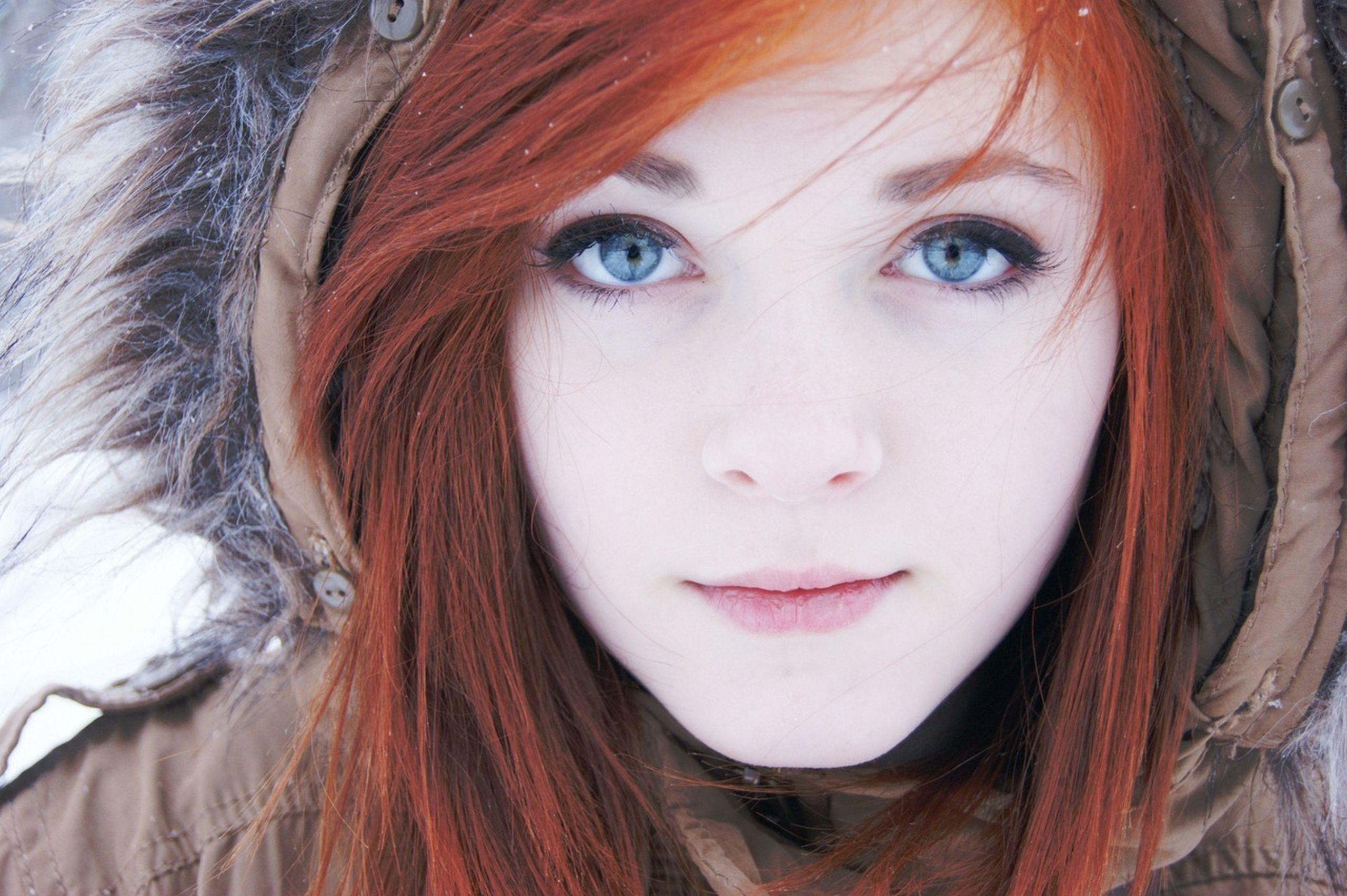 Beyaz Tenlilere Saç Rengi