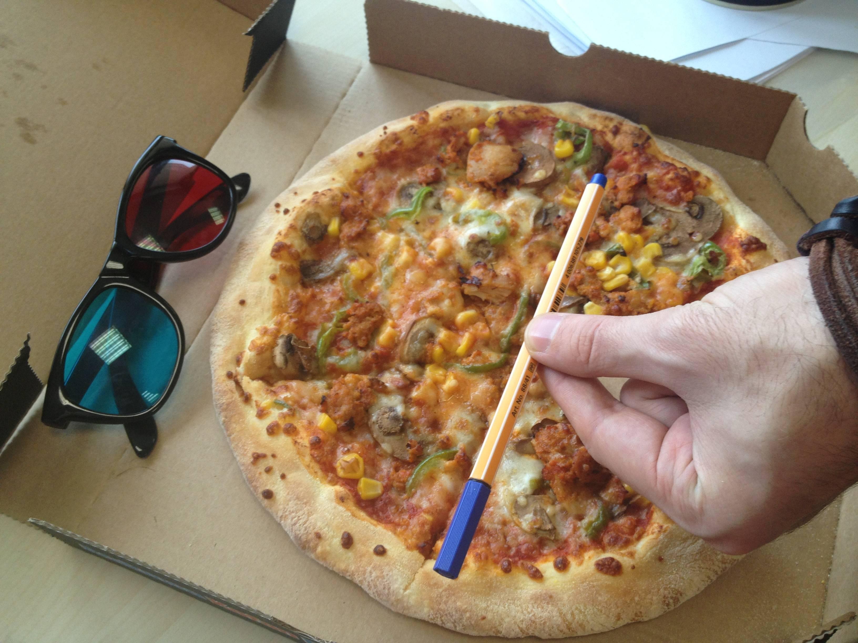 resimli tarif: dominos küçük boy pizza kaç dilim [18]