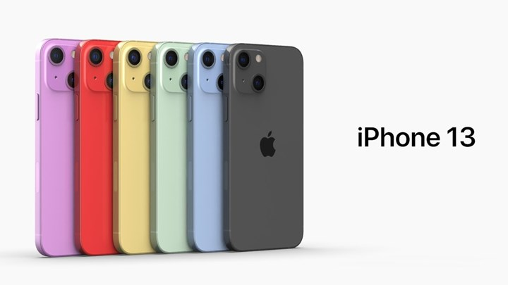 iPhone 13 tasarım görüntüsü