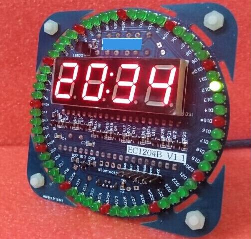 Сделать светодиодные часы своими руками