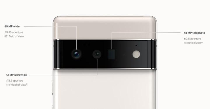 google pixel 6 kamera özellikleri